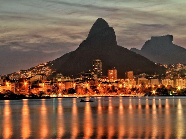 Poster Rio - Lagoa   paisagem
