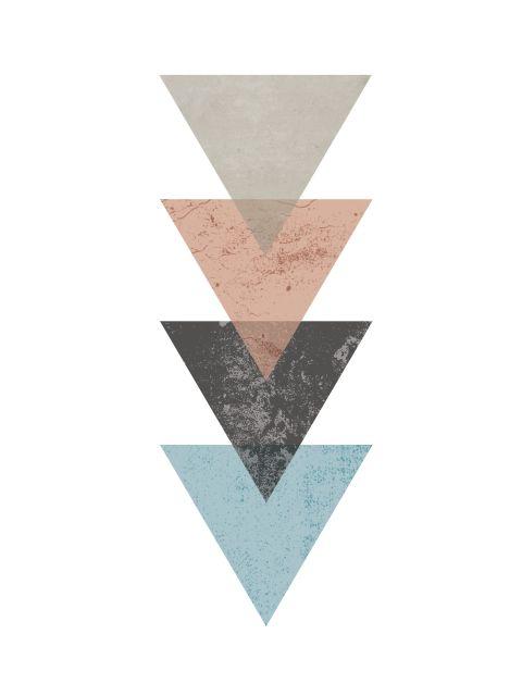 Poster Triangles   triângulos