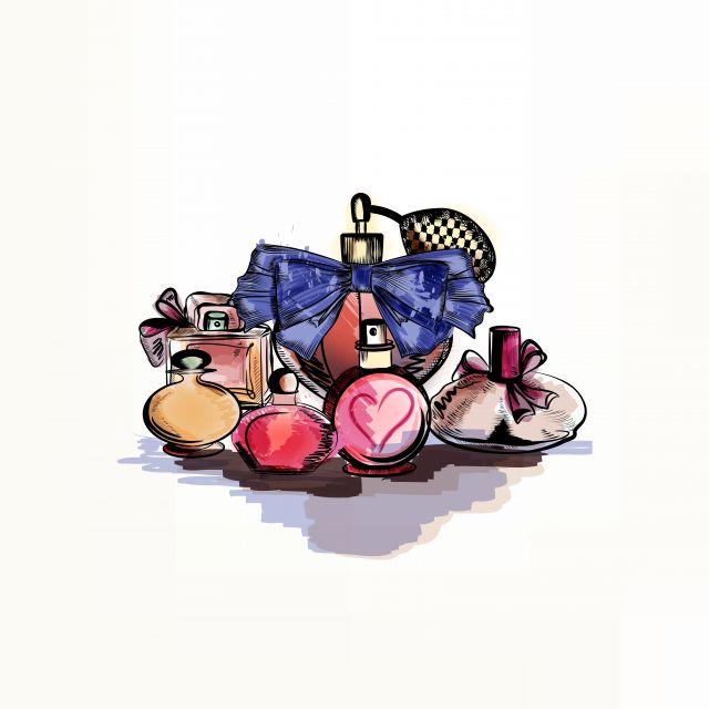 Poster Watercolor Perfume