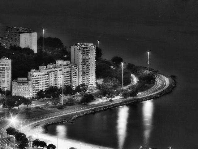 Poster Praia de Botafogo   rio de janeiro