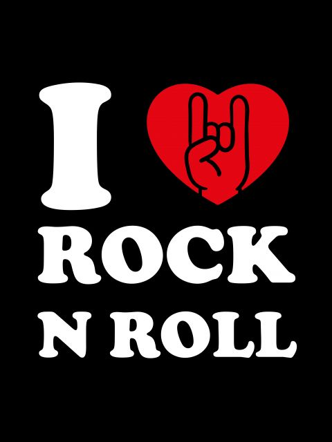 Poster I Love Rock N Roll   roqueiro
