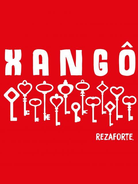 Poster Xangô   vermelho