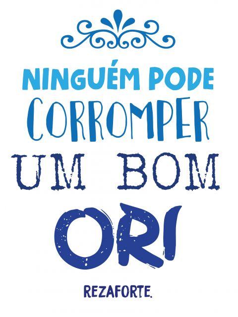 Poster Um bom Ori   azul