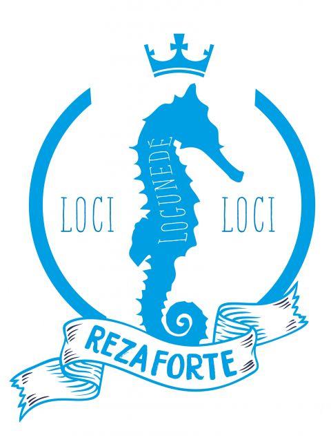 Poster Loci Loci - Logun   azul