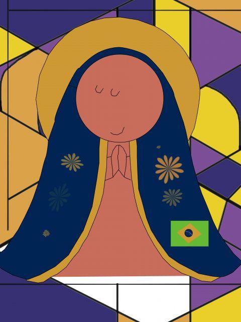 Poster Nossa Senhora Aparecida