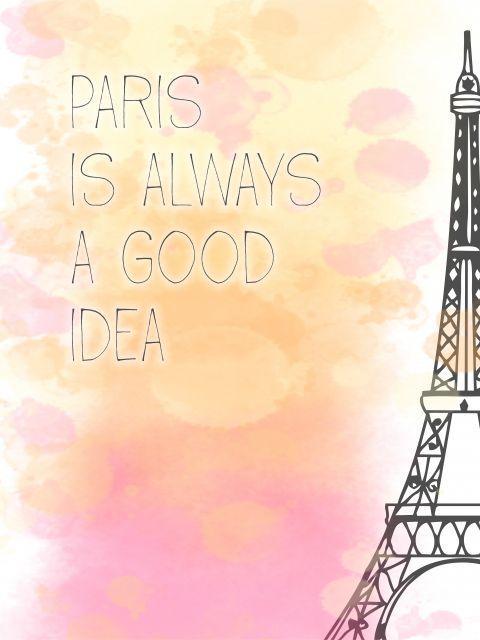 Poster Paris is Always a Good Idea