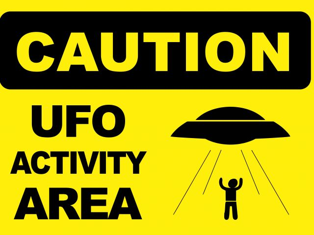 Poster ufo area