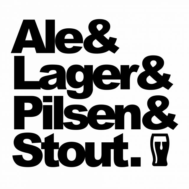 Poster Beer Ale Lager Pilsen Stout