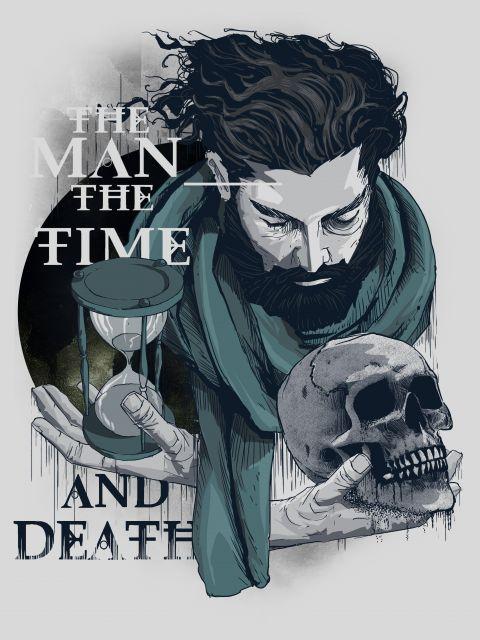 Poster O homem o tempo e a morte