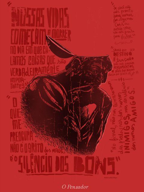 Poster O Pensador