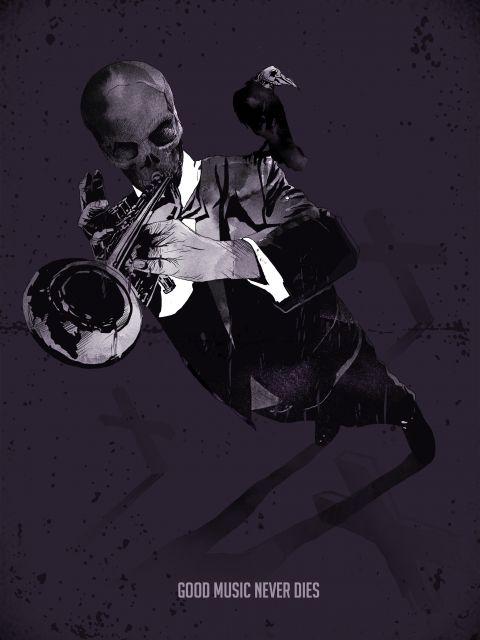 Poster A Boa Musica Nunca Morre