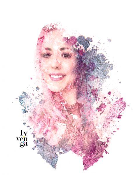 Poster Makeup Girl