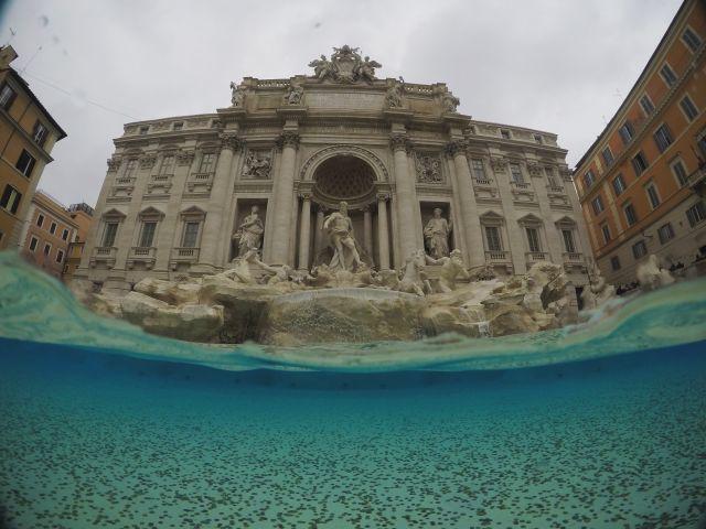 Poster Fontana di Trevi_Roma_Italia