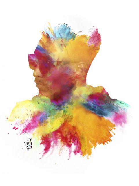 Poster Somos coloridos