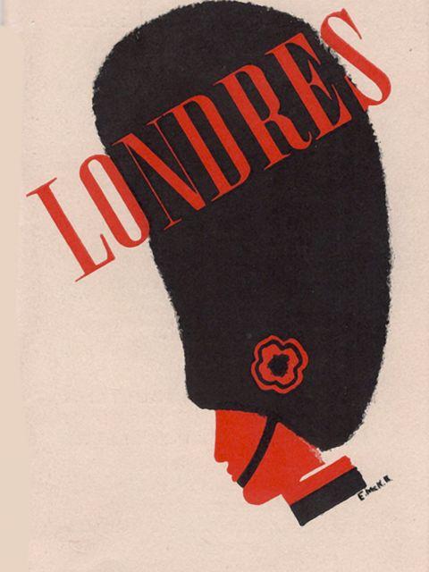 Poster Londres Paris