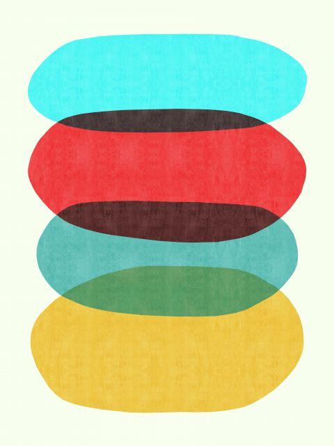 Poster Composição abstrata X