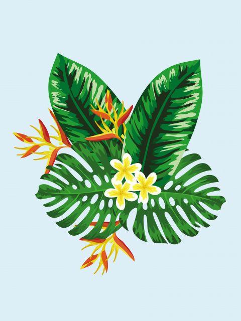 Poster Férias tropicais V