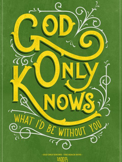 Poster God Only Knows