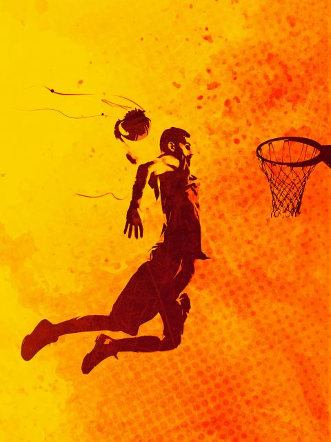 Poster Heat of Basketball2   basquete