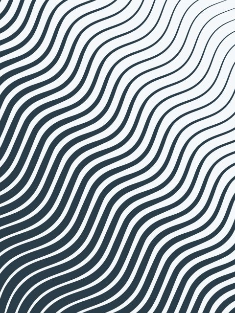 Poster Waves - Lines
