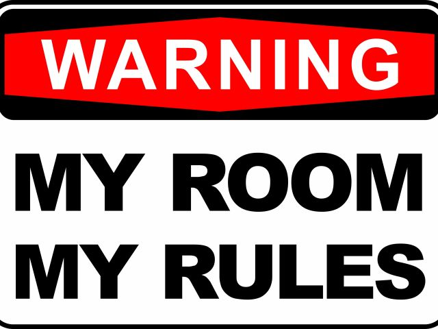 Poster My Room My Rules