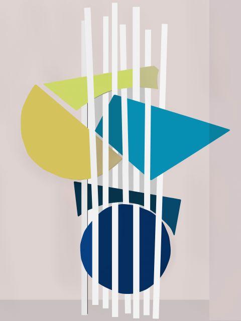 Poster Composição Abstrata 428