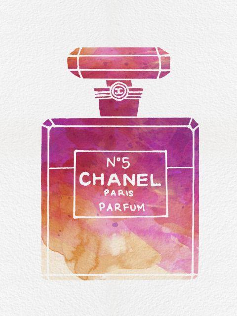 Poster Perfume Chanel N5 VIII