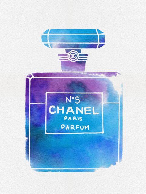 Poster Perfume Chanel N5 IX