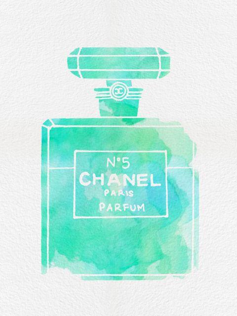 Poster Perfume Chanel N5 X