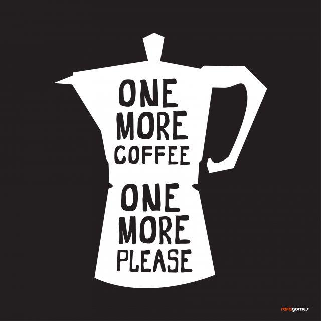 Poster Mais um Café Por favor