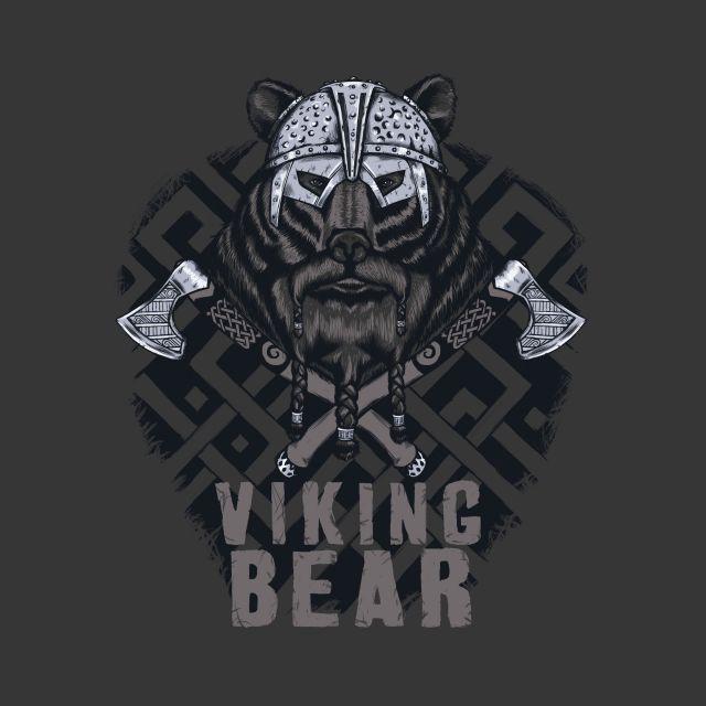 Poster Urso Viking