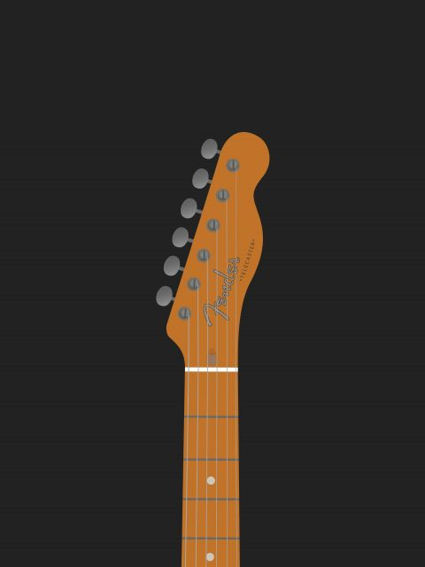 Poster Telecaster Guitar   guitarra violão