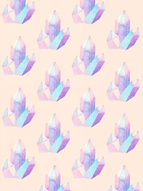 Poster Padrão diamantes I