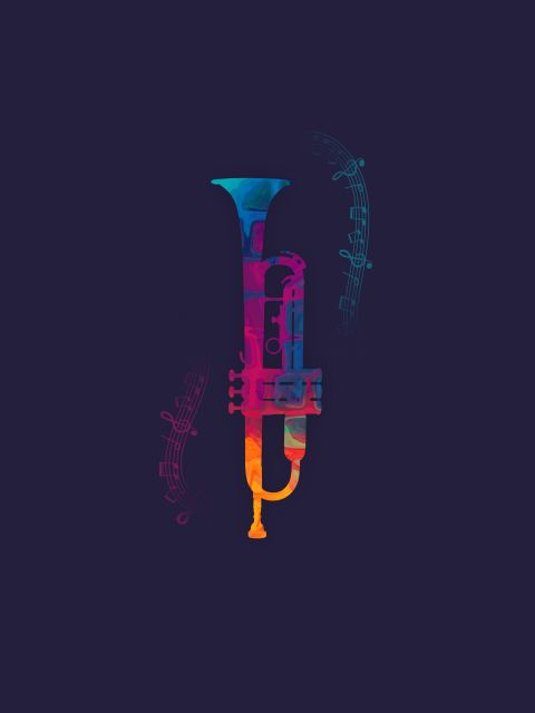 Poster Trumpet Color