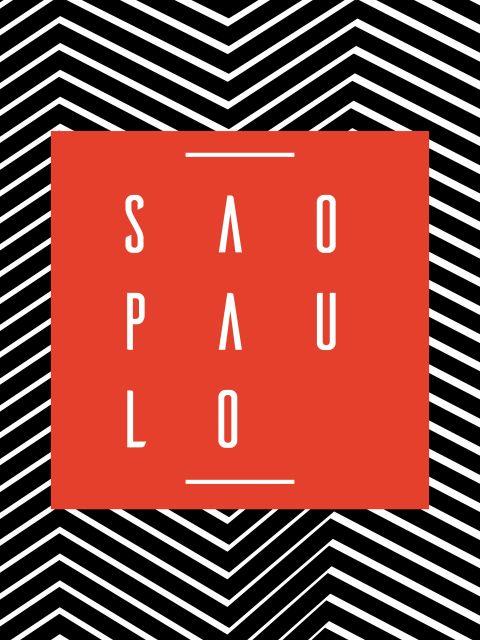 Poster São Paulo Geométrico
