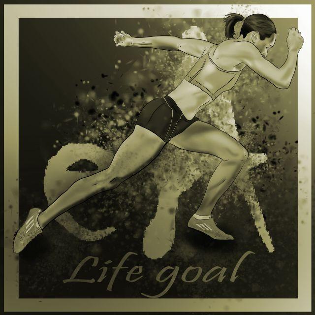 Poster Life Goal
