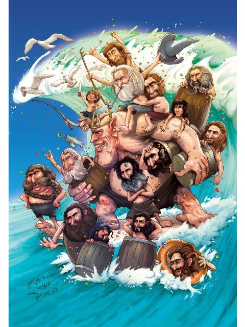 Poster Hobbit Wave