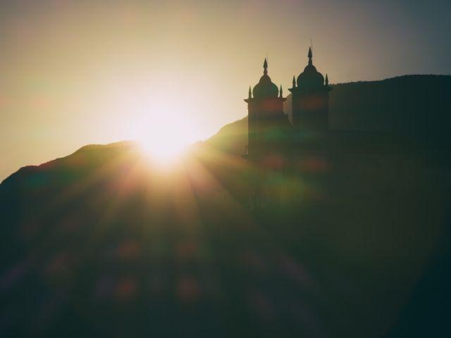 Poster Por do Sol em Ouro Preto