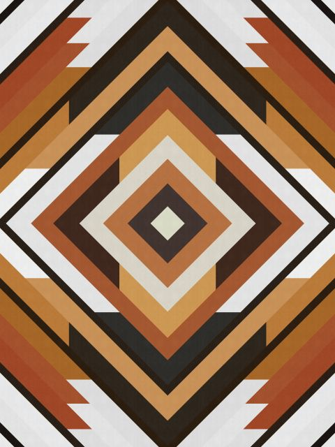 Poster Abstrato e Geométrico 07