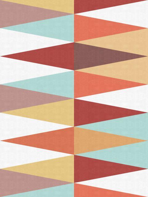 Poster Arte Geométrica Outono