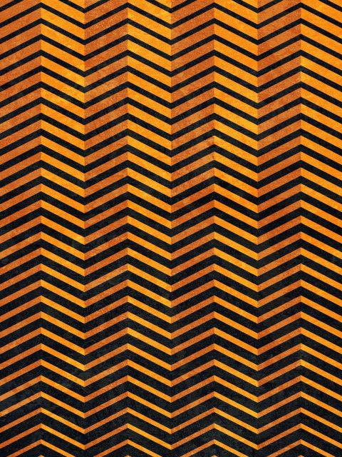 Poster Amarelo Geométrico