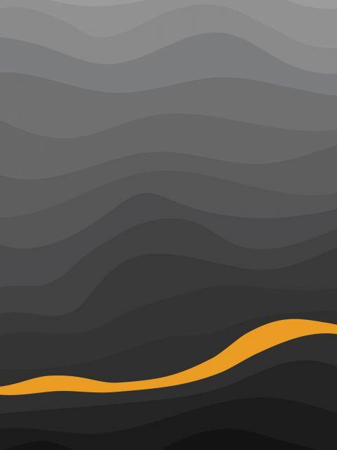 Poster Linha Amarela 1
