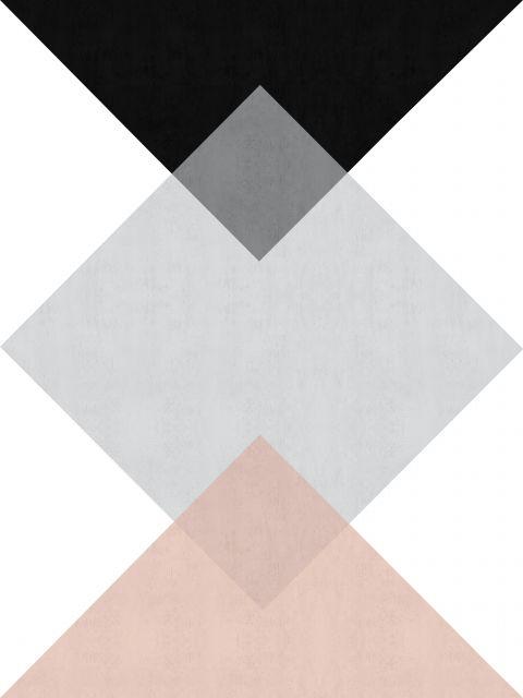 Poster Quadricula minimalista