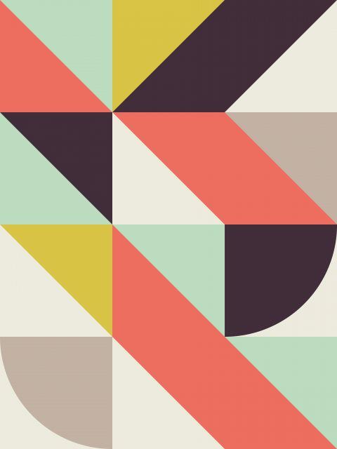 Poster Composição Geométrica A
