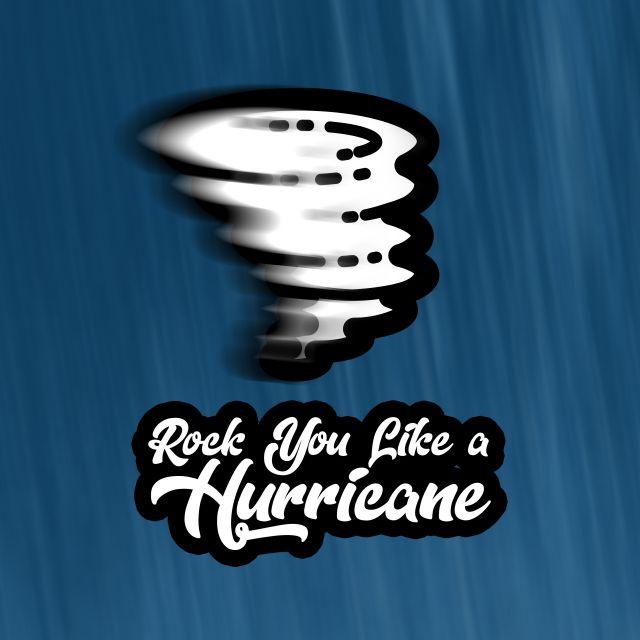 Poster Rock you like a hurricane