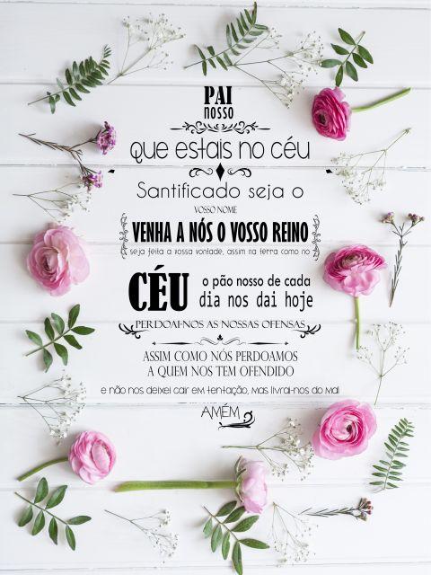 Poster Oração