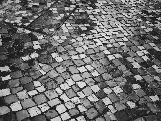 Poster Calçada portuguesa