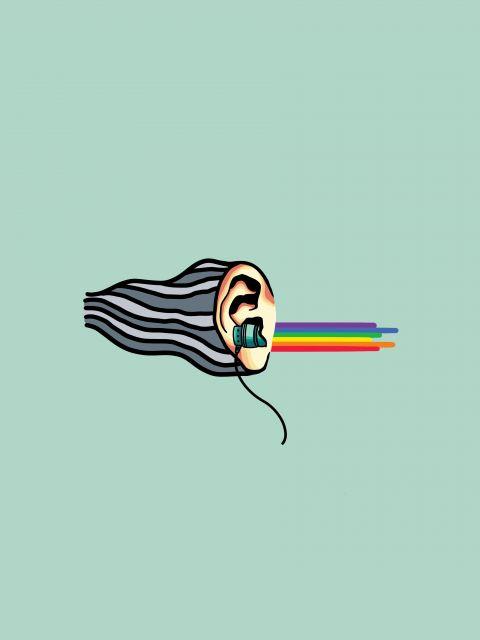 Poster Música é Alívio