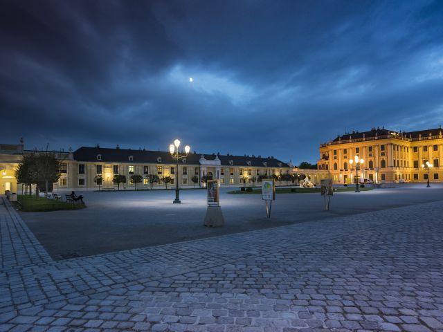 Poster Áustria - Palácio de Schonbrunn