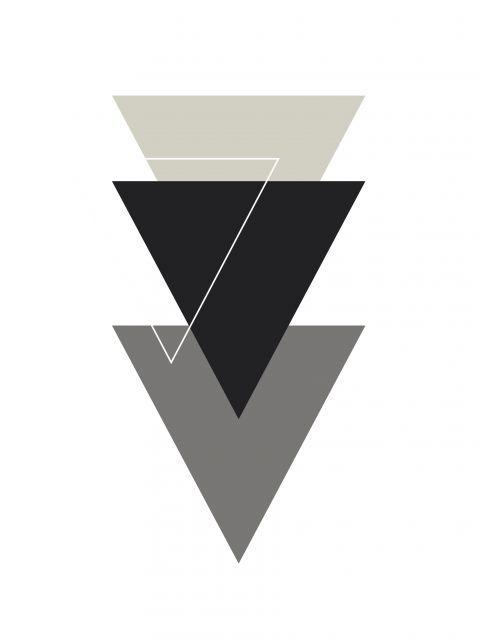 Poster Triângulos